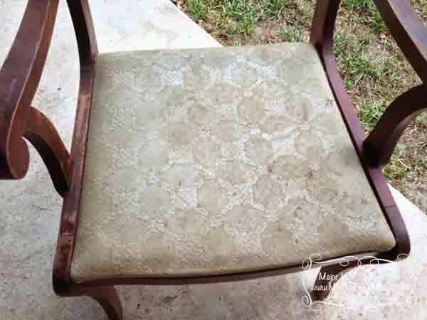 Armchair gross seat