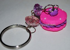 key chain - french macaroon
