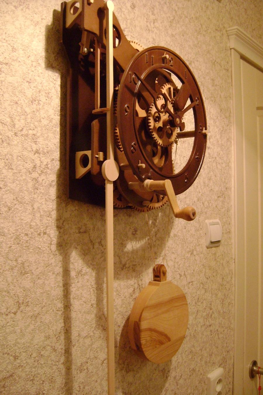 Часы из дерева своими руками чертежи фото 115