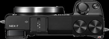 Sony NEX-7 top