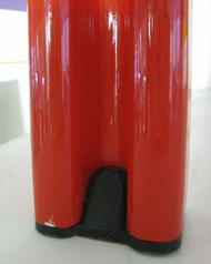 Vicario armchair, red