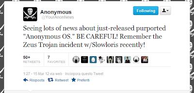 Anonymous-OS la distro fake e con trojan!  o no?