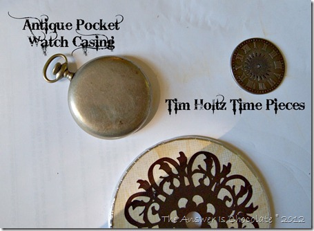 Tim Holtz Time Pieces