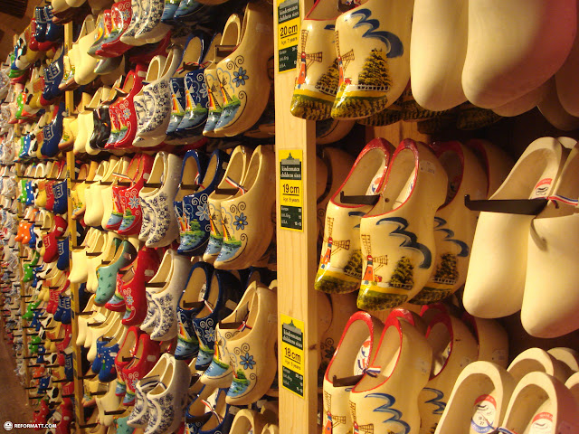 lots of clogs for sale in Zaandam, Noord Holland, Netherlands