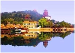 قصر الصيف في بكين الصينية