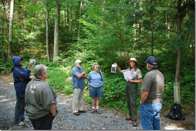 08-29-2011 B Shenandoah NP Rapidan Camp Tour 005