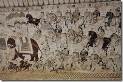 orchha 074 peintures temple Lakshhmi