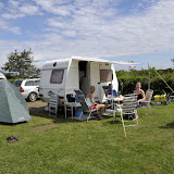 Så er vi nået frem til Camp Hverringe, og hygger med mormor og morfar