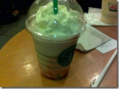 starbucks soy strawberry frappuccino, by 240baon