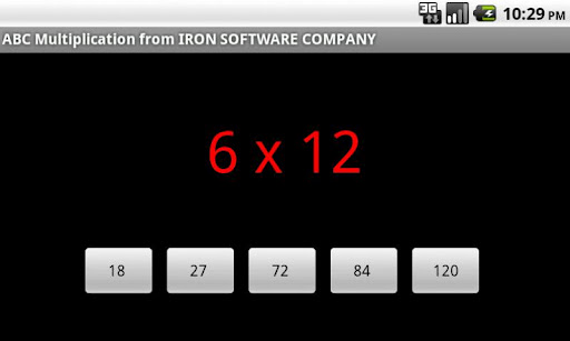 Multiplication Test Timer Pro