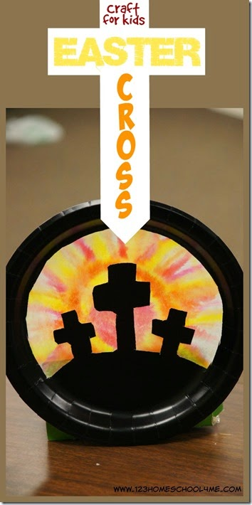 Easter cross craft for kids for Cross craft for kids