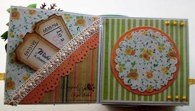 Swallowtail & Sunflower Card Box3