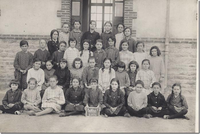 1931 école filles