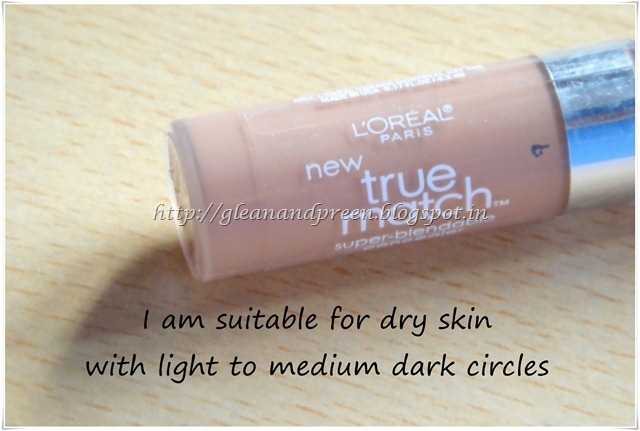 Loreal Paris True Match Super Blendable Concealer Review