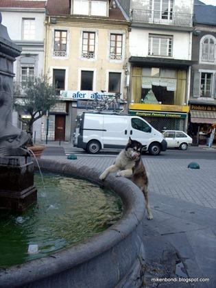 Lourdes fountain