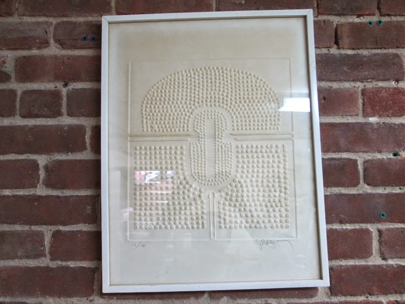 Signed Embossed Print