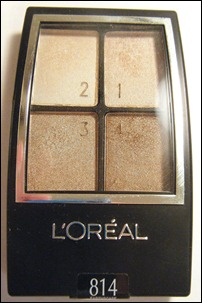 L'Oreal Earthscape Eye Shadow Quad