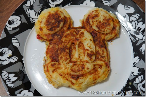 Disney Breakfast with Mickey Potato Waffle Recipe