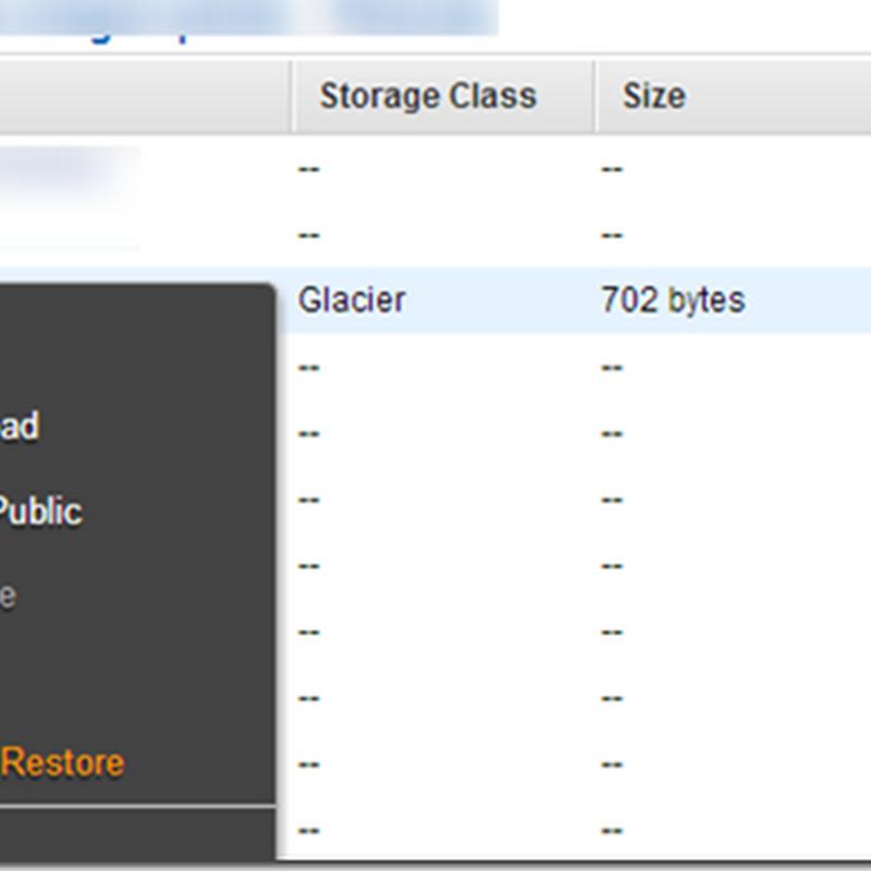 Amazon S3 + Glacier + DragonDisk による低価格&高信頼性バックアップ環境の構築 (3 - アップロードする方法の考察)