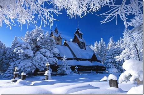 peisaje de iarna-poze