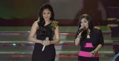 Sarah Geronimo and Sheryn Regis