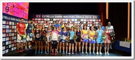 Inaugurado el Estrella Damm Masters Final WPT 2014 y realizado el sorteo de grupos.