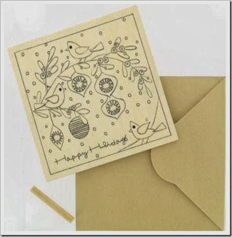 HobbyCraft Wooden Christmas Card...