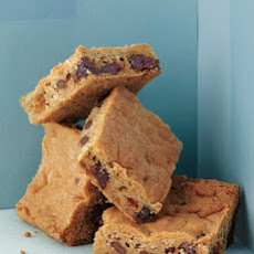Chocolate-Cherry Blondies