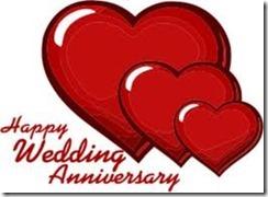 happy wedding anniv