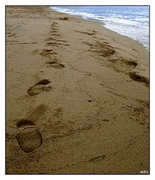 Footprints_In_The_Sand_by_madilar