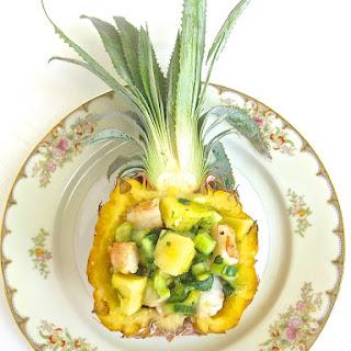 Seafood Salad Pineapple Recipes