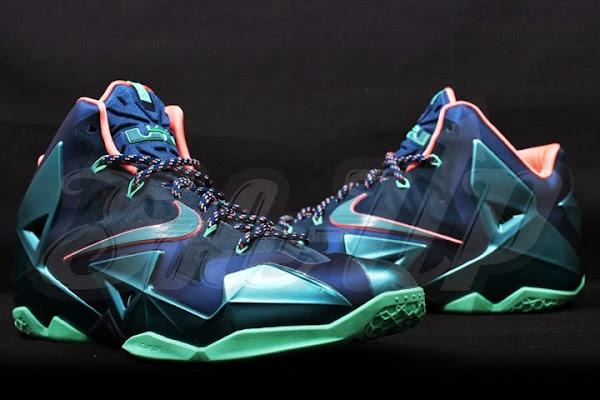 Upcoming Nike LeBron XI Akron vs Miami 8211 New Pics