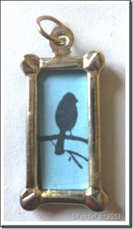 Tiny Bird Charm 4