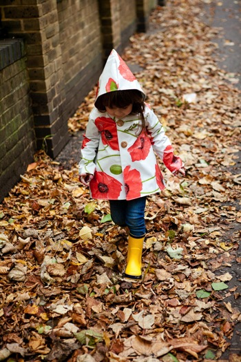 Five and Ten Raincoat at Our Family Four 7