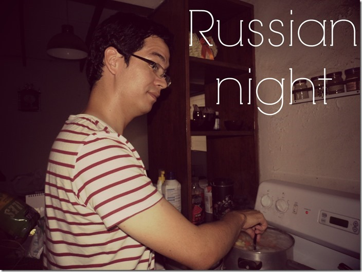 Aleros Russian night