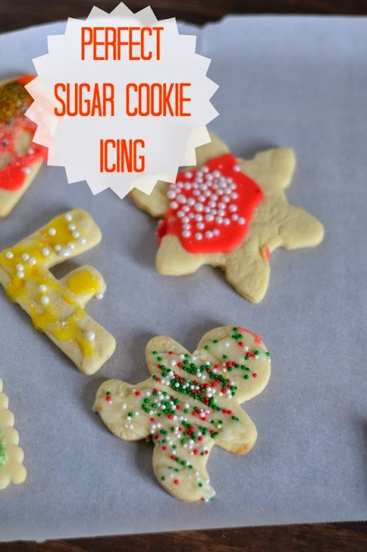 Perfect Sugar Cookie Icing