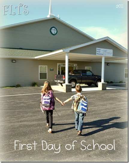 Mary and Danny's First School Day