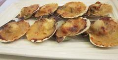 baked scallops, 240baon