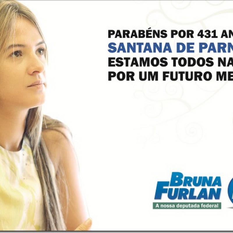 Santana de Parnaíba: PARABÉNS!