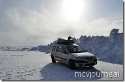 Arctic Roadtrip Erik met Dacia Logan MCV 13