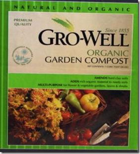 Growell organic garden compost