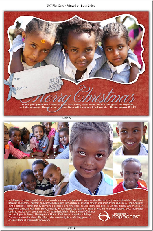 KindHearts Christmas Card