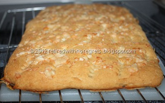 Easy Focaccia - Gluten-free - cooling