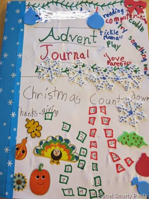 Writing Journal for Advent