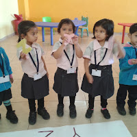 Pre Primary on 5th February 2014 GDA Harni