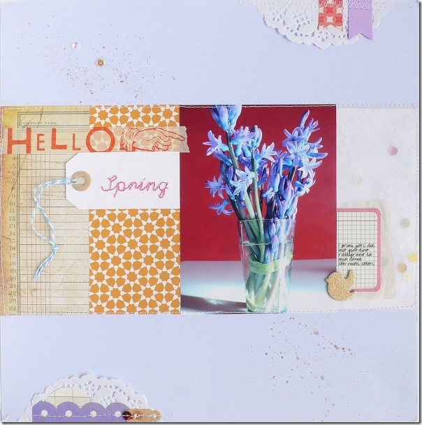 Anna Drai - big shot - scrapbooking - Hello Spring (1)