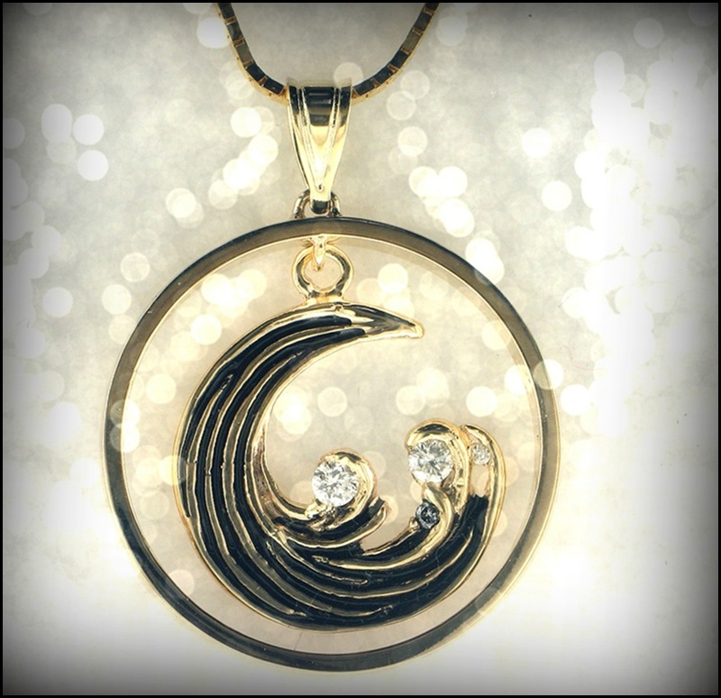 RES Wave Pendant 2 bokeh