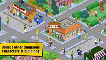 The Simpsons Tapped Out 4.2.1 Mod APK (Unlimited DONUT and Money