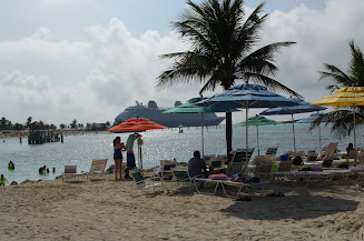 The new expanded family beach area, right past Pelican Point.
