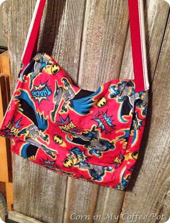 Caped Crusader Game Bag